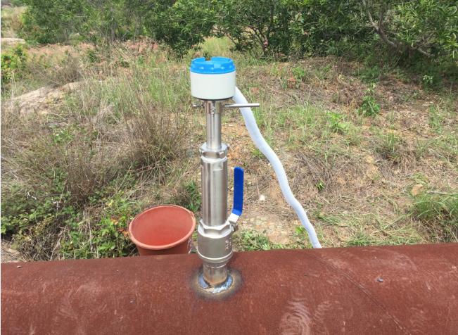 精川插入式电磁流量计又一次成功安装于莆田自来水公司