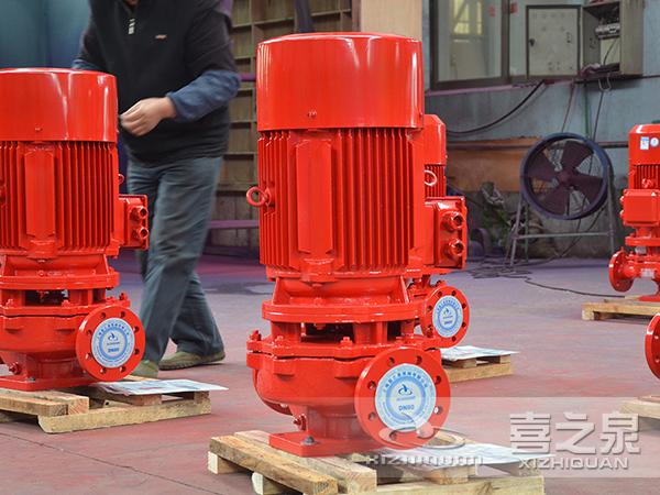 消防泵,立式消防泵组产生振动危害的解决方案