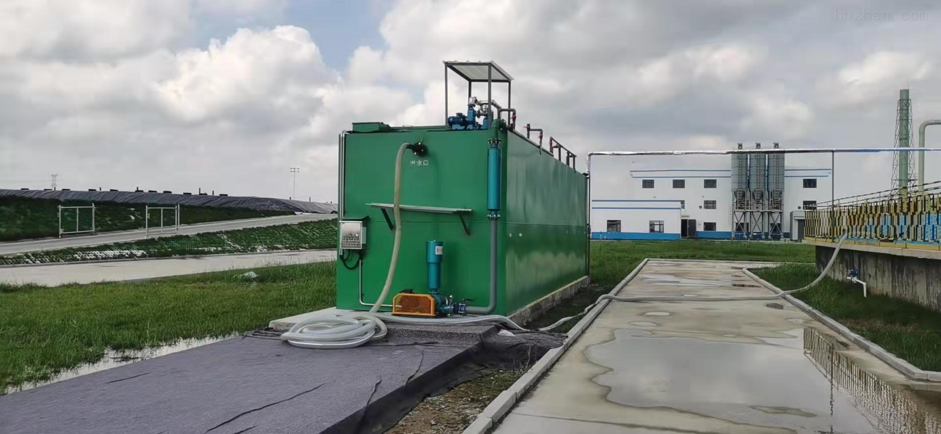 农村污水处理设备安装前的准备工作