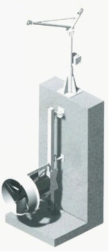 潜水搅拌机的安装实例图