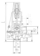 全启式低温安全阀结构图