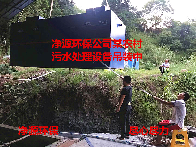 农村振兴安置社区生活污水处理项目