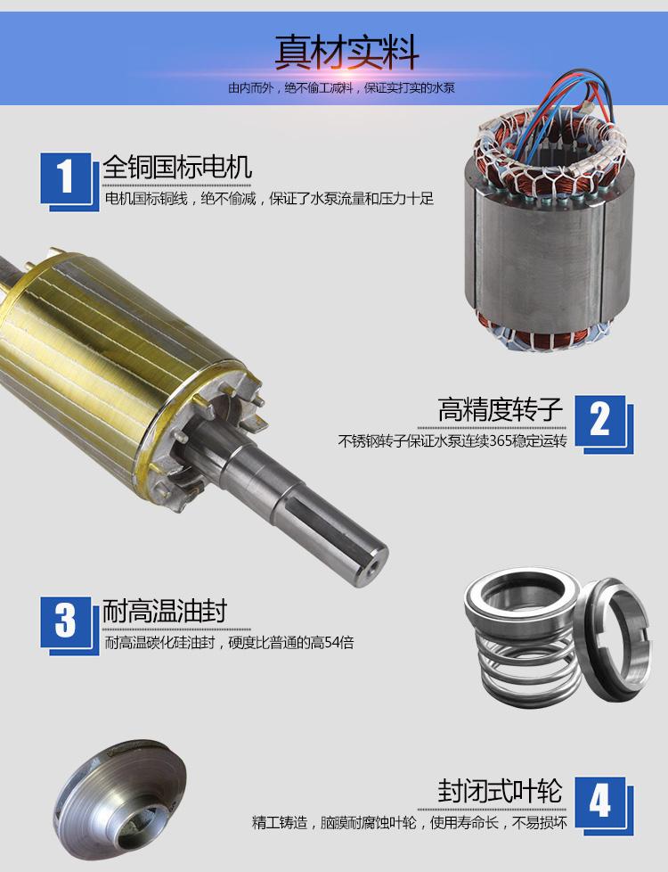 自吸式污水泵电机