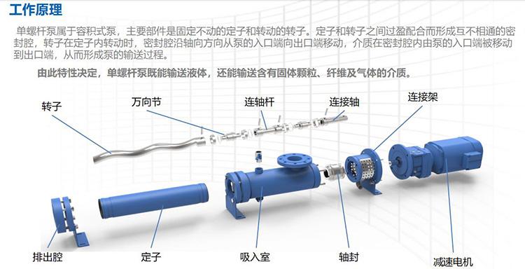 螺杆泵结构图