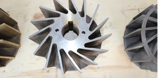 不锈钢真空泵叶轮