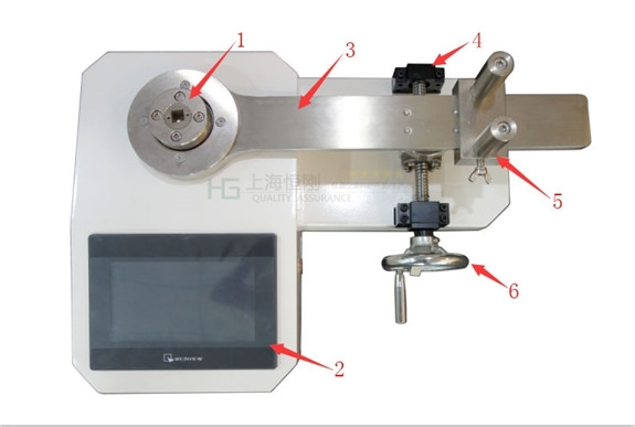 測試螺釘扭矩的扭矩檢定儀
