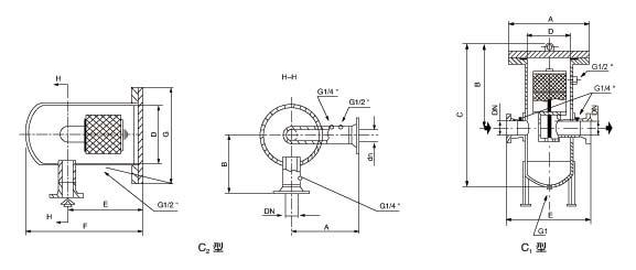 XXG-C2天然氣過濾器