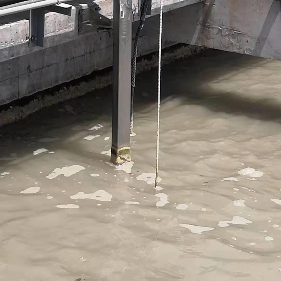 南京兰江现场解决  针对潜水搅拌机卡住问题