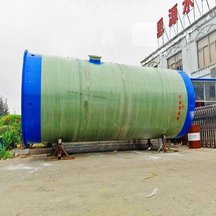 直径3m*7m提升泵站 一体化预制泵站现场吊装
