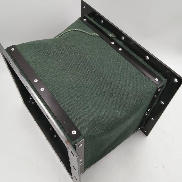 耐磨帆布机械设备通风伸缩软连接定做