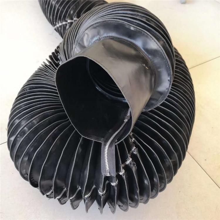 拉链式液压油缸伸缩防护套