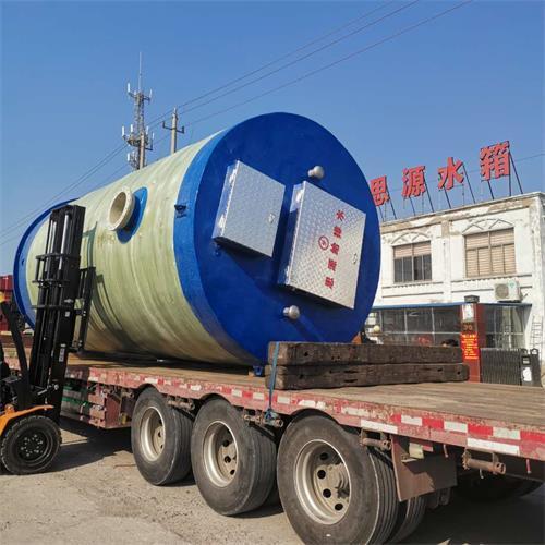 江苏一体化泵站厂家 市政排涝提升泵站