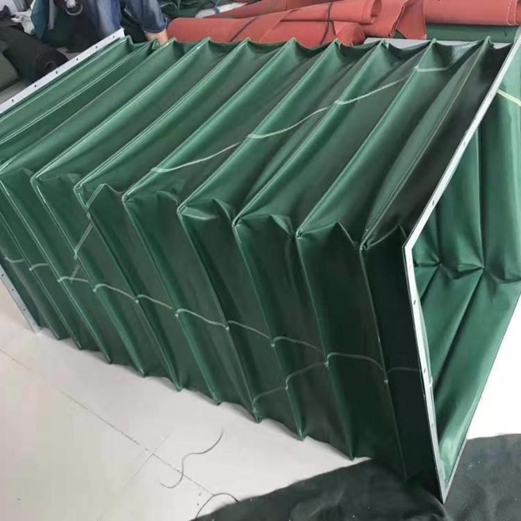 耐磨帆布机械设备通风伸缩软管