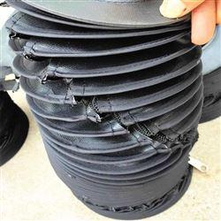 缝合式液压杆圆形伸缩防护罩