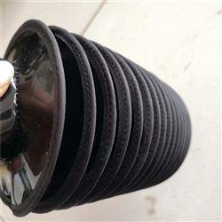 拉链式耐温液压杆伸缩保护套