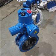 D341X-10电动高温调节蝶阀厂家  执行机构